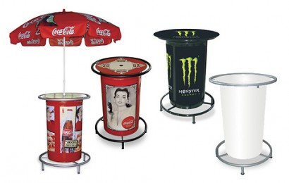 Bar stool and table