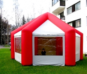 Inflatable tent_7